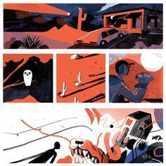 """124 Me gusta, 4 comentarios - Molly Mendoza (@msmollym) en Instagram: """" #illustration #comics"""""""