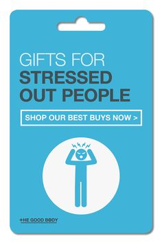 Frazzled. Burnt out. Exhausted. If this describes the person you're shopping for then give them a gift that will help them unwind.Our list of ideas for stressed out people has a range of different options to encourage them to relax, refresh and renew. Anxiety Relief, Stress And Anxiety, Stress Relief, Wellness Tips, Health And Wellness, Stressed Out, Health Advice, For Your Health, Exhausted