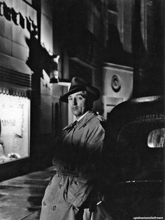 "Robert Mitchum in ""Out of the Past"" 1947"