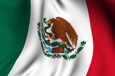 Mexicanos primero celebran la actual bandera el 24 de febrero de 1937.