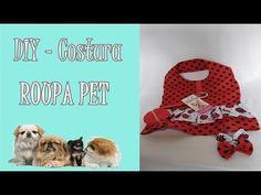 DIY -Aprenda a fazer um vestido pra cachorro . - YouTube