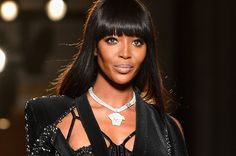 If anyone knows how to start a high fashion party, it's Naomi Campbell. The seasoned runway vet kicked off Paris Haute Couture Fashion Week yesterday, opening the Versace Atelier Autumn/Winter 2013 fashion show in a slinky black number.