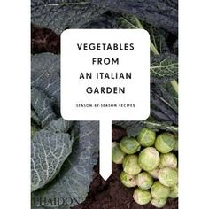 I can't say enough good things about this cookbook. They educate on growing or buying what's in season and present several Italian inspired presentations for each vegetable. Be sure to check out Sorbetto al Basilico (Basil Sherbert) on page 167, for the summertime. Light and refreshing!