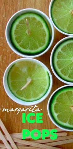 Margarita Ice Pop Recipe