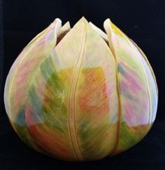 pink ti leaf gourd bowl; how can I do this. Would be perfect in Maui