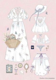 20 New Ideas Fashion Drawing Ideas Dresses Inspiration