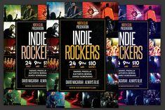 Indie Rockers Flyer by KiraYamato on Gospel Concert, Concert Flyer, Daniel Padilla, Upcoming Events, Logo Design Inspiration, Musicals, Indie, Presentation, Rockers