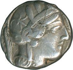 Greece: Athen, tetradrachm to 449 BC, Athena, owl, moon, olive branch; silver 16.8 g. Schrtl.-Riss, very fine +    Dealer  Schwanke GmbH    Auction  Minimum Bid:  450.00 EUR