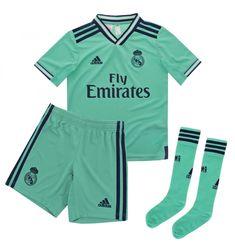 Conjunto Adidas Real Madrid 3ª 2019-2020 Verde 152