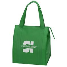 Get ready for the big time with this generous grocery tote!