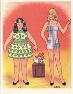 Hee Haw - Lulu and Kathy