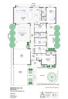 8 Star House Manly - Completed new home designed by All Australian Architecture Contemporary House Plans, Modern House Plans, Modern House Design, Best House Plans, Dream House Plans, House Floor Plans, Residential Architect, Architect Design, Australian House Plans