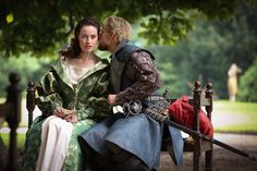 The Musketeers series 2/4. Emilie. BBC Dusan Martinek photographer. Rochefort foiled the plan to kill him by Perales and he wants revenge! And Milady is just the woman for the job.