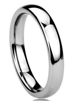 Classy! Classy! 4mm polished titanium wedding band. SALE $ 59.99