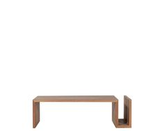 Ethnicraft© - Products » Tables Basses »Teck Naomi - table basse - FSC Recyclé 100%*