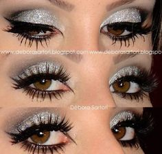 """Party or """"Night out on the Town"""" makeup"""