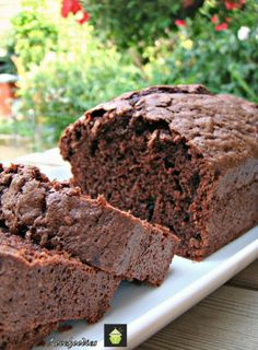 Moist Chocolate Zucchini (courgette) Bread. This is a moist, soft loaf / pound cake, and incredibly easy to make. They freeze very well, so always handy if you have unexpected visitors for coffee time! You also can't taste any hint of zucchini so great if you want to disguise some vitamins inside a cake! You will need a loaf tin, 8 inches by 4 inches. The batter may also fit in a 9 inch loaf pan. Ingredients: 2 eggs 1 cup or 200 g Regular sugar 1/2 cup or 120 ml Vegetable oil 1 cup or hal...