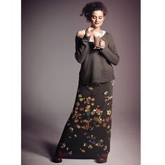 EMPIRE STATE MAXI SKIRT