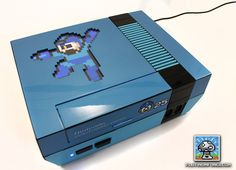 Incredible Mega Man NES Console Mod on Global Geek News.