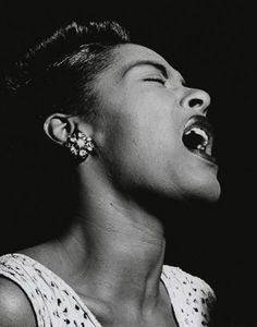 Billie Holiday, 1948.  Photo by William Gottlieb