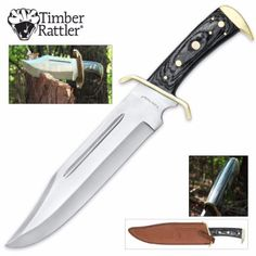 2 – Timber Rattler Bowie Knife