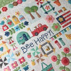 Bee In My Bonnet: Bee Happy Sew Along Guide is Ready!!