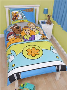 Genial Scooby Doo Mystery Reversible Panel Duvet Set | Bedding | Bedroom | Quilt Scooby  Doo Mystery
