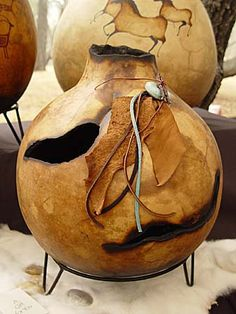 Fallbrook, CA (PRWEB) March 2005 -- The Annual International Gourd Art Festival, happening June and at the Welburn Gourd Farm in north San Hand Painted Gourds, Decorative Gourds, Dremel, Acevedo, Gourds Birdhouse, Gourd Art, Art Festival, Pyrography, Ancient Art