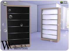jomsims' Woltex bathroom dresser