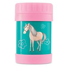 Crocodile Creek Horse Food Jar is an insulated food container that is ideal for hot lunches.