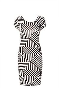 GRIDLOCK BODYCON DRESS From MrPrice for R89.99... What a bargain and looking like an million bucks @mrpfashion