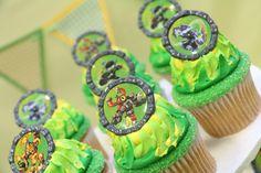 Skylanders cupcakes...