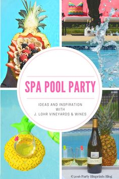 Spa Day Pool Party.  A Sum-her celebration for the ladies with tips, ideas and recipes.  #ad #YouKnowJLohr