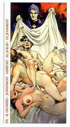 Judgement - Decameron Tarot