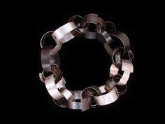 Biba Schutz, Bracelet, Oxidized Sterling Silver, Sterling Silver