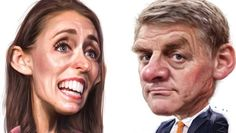 While the focus has been on Labour's Jacinda Ardern and National's Bill English, what of those who didn't even make it . Caricatures, English, Let It Be, English Language, Caricature, Caricature Drawing