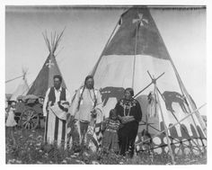 Blood Kainna or Kainah, Belly River, Alberta, Canada | by Montana State University Library