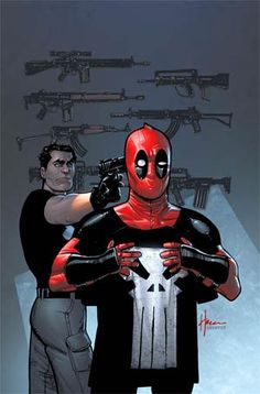 Deadpool vs Punisher #2 Cover C Incentive Howard Chaykin Variant Cover