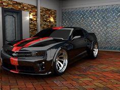 Sweet Black Camaro. I'm seriously gonna get this!