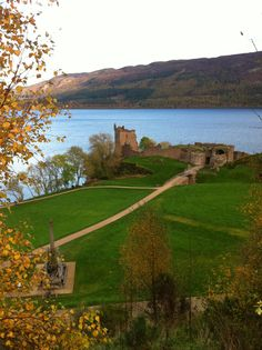 Urquart Castle and Loch Ness by Day
