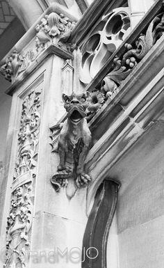 Gargoyle art structural decor building