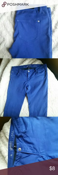 Celebrity Skinny jeans Size 11, Royal Blue celebrity Jeans Skinny