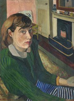 Daphne Charlton, Self-portrait