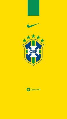 272faeff84  Brasil 07114CTG  LigraficaMX Brazil Football Team
