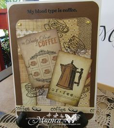 TaylorMade4U Cards: Coffee Lover's Blog Hop Day #1
