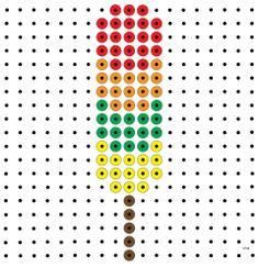 * Vier kleuren! ijsje kralenplank Summer Activities For Kids, Summer Kids, Pixel Pattern, Butterfly Crafts, Space Theme, Pixel Art, Google Drive, Camping, Teaching