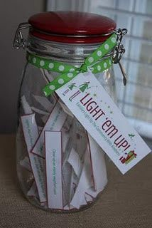 Light 'em up! Each day one child will pull an act of kindness out for the entire class to work on that day. Great idea!