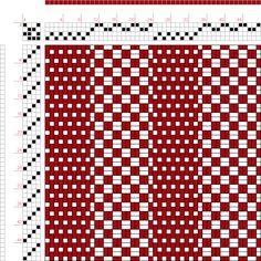 draft image: 24279, 2500 Armature - Intreccio Per Tessuti Di Lana, Cotone, Rayon, Seta - Eugenio Poma, 4S, 4T