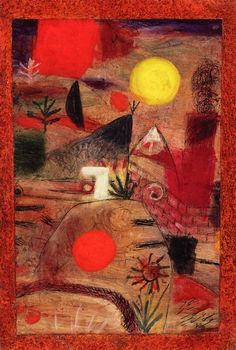 Ceremony and Sunset   Paul Klee  The Athenaeum