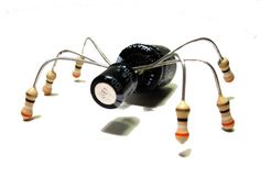Items similar to Computer Bug Magnet - Upcycled Electronics - Geek Office Decor on Etsy Buy Golf Clubs, Golf Simulators, Found Object Art, Old Computers, Electrical Components, Recycled Art, Repurposed, Electronic Art, Easy Drawings